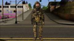 Task Force 141 (CoD: MW 2) Skin 8 для GTA San Andreas
