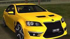 Holden HSV GTS 2011 для GTA Vice City
