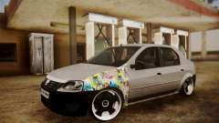 Dacia Logan Sedan Tuned для GTA San Andreas
