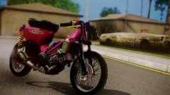 Super Cub Drag для GTA San Andreas