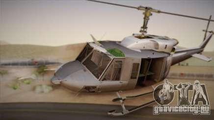 Bell UH-1N Twin Huey USMC для GTA San Andreas