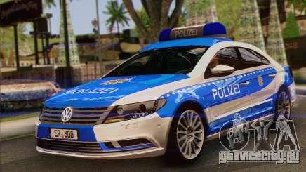 Volkswagen Passat CC Polizei 2013 v1.0 для GTA San Andreas