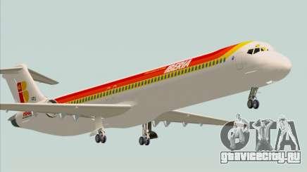 McDonnell Douglas MD-82 Iberia для GTA San Andreas