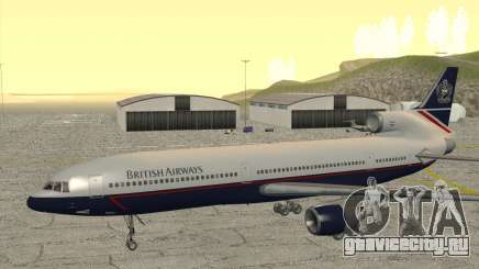 Lockheed L1011 Tristar British Airways для GTA San Andreas