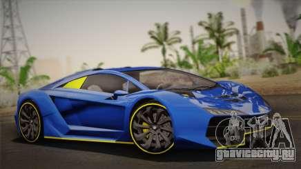 GTA 5 Zentorno для GTA San Andreas