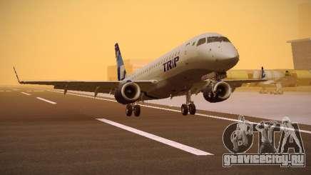 Embraer E190 TRIP Linhas Aereas Brasileira для GTA San Andreas