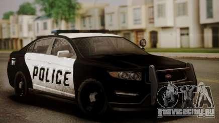 Vapid Police Interceptor from GTA V седан для GTA San Andreas