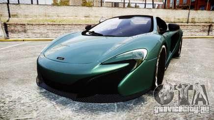 McLaren 650S Spider 2014 [EPM] Yokohama ADVAN v1 для GTA 4