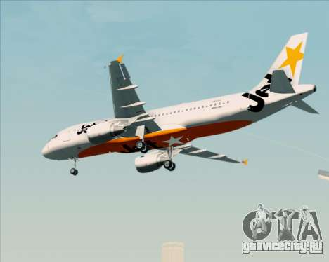 Airbus A320-200 Jetstar Airways для GTA San Andreas вид справа