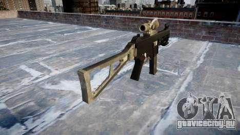 Пистолет-пулемёт UMP45 A-TACS AU для GTA 4 второй скриншот