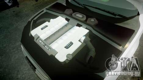 Audi A8 Limousine для GTA 4 вид сбоку