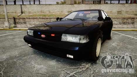 GTA V Vapid Cruiser Police Unmarked [ELS] Slick для GTA 4