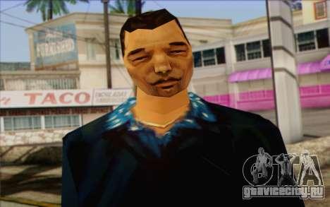 Yakuza from GTA Vice City Skin 2 для GTA San Andreas третий скриншот