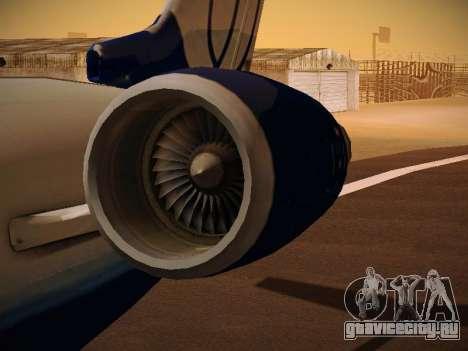 Bombardier CRJ-700 United Express для GTA San Andreas салон