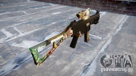 Пистолет-пулемёт UMP45 Ronin для GTA 4 второй скриншот
