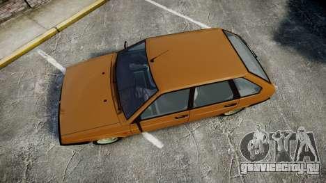 ВАЗ-2109 1500 i для GTA 4 вид справа
