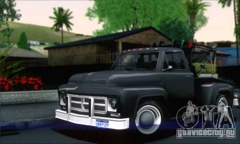 GTA 5 Towtruck для GTA San Andreas