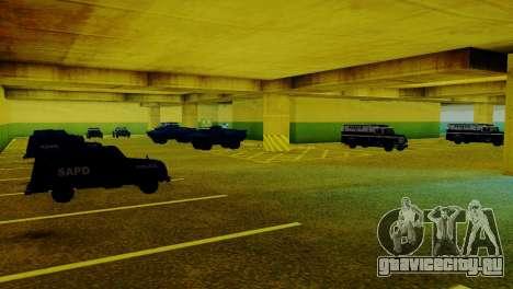 Новые транспортные средства в LVPD для GTA San Andreas