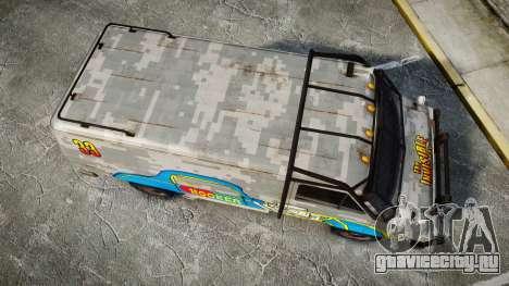 Kessler Stowaway Hooker Headers для GTA 4 вид справа
