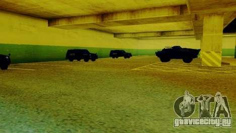 Новые транспортные средства в LVPD для GTA San Andreas второй скриншот