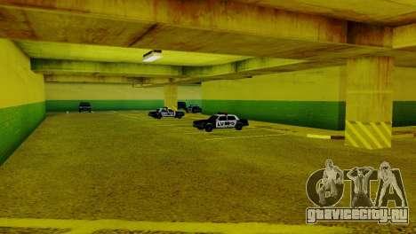 Новые транспортные средства в LVPD для GTA San Andreas третий скриншот