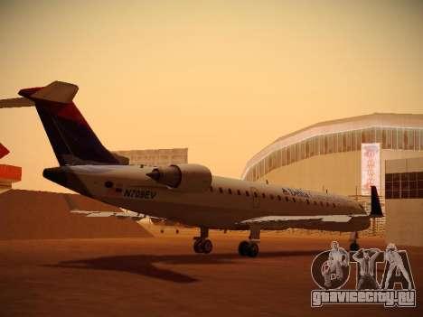 Bombardier CRJ-700 Delta Connection для GTA San Andreas вид справа