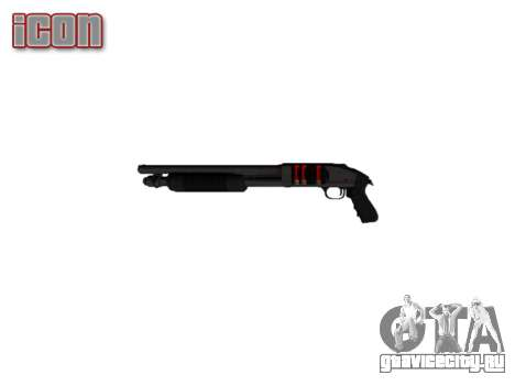 Помповое ружьё Mossberg 500 icon2 для GTA 4 третий скриншот