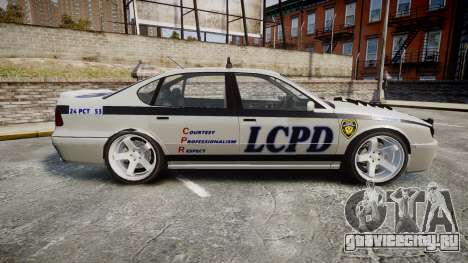 Declasse Merit Police Patrol Speed Enforcement для GTA 4 вид слева