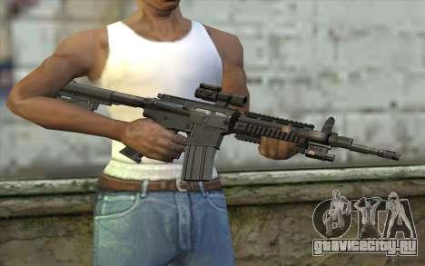 M4 Stuffed для GTA San Andreas третий скриншот