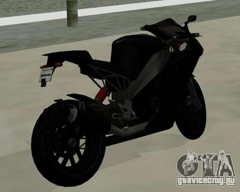 CarbonRS для GTA San Andreas вид слева
