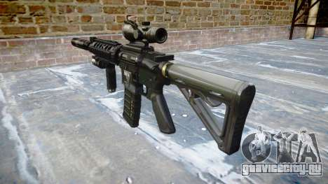 Автомат Tactical M4A1 CQB target для GTA 4 второй скриншот