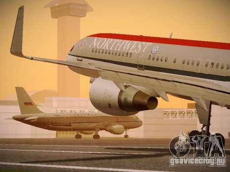 Boeing 757-251 Northwest Airlines для GTA San Andreas