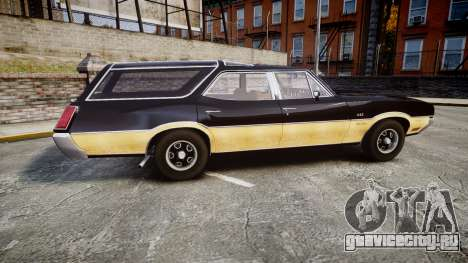 Oldsmobile Vista Cruiser 1972 Rims2 Tree1 для GTA 4 вид слева