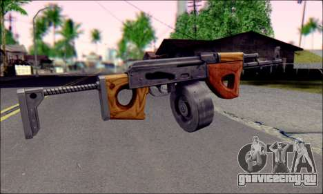 Импортный АК для GTA San Andreas второй скриншот