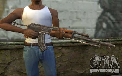 Тип 56-1 (АКМС) from Battlefield: Vietnam для GTA San Andreas третий скриншот