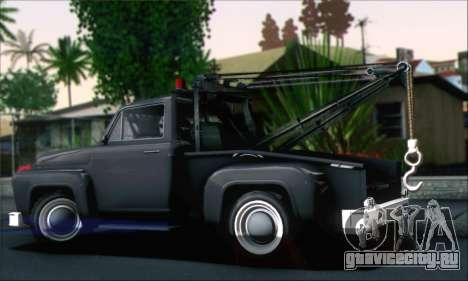 GTA 5 Towtruck для GTA San Andreas вид слева