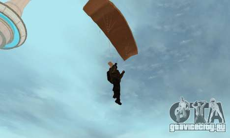 New parachute для GTA San Andreas пятый скриншот