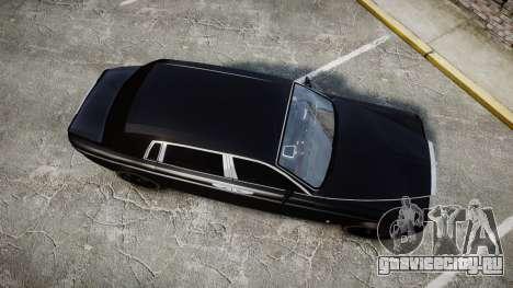 Rolls-Royce Phantom EWB для GTA 4 вид справа