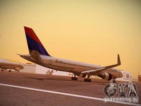 Boeing 757-232 Delta Airlines для GTA San Andreas вид справа