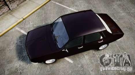 Dacia 1300 для GTA 4 вид справа
