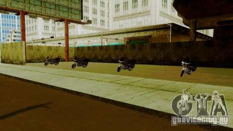 Новые транспортные средства в LSPD для GTA San Andreas третий скриншот