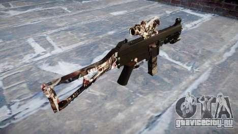 Пистолет-пулемёт UMP45 Zombies для GTA 4 второй скриншот