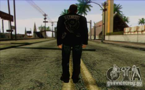 Johnny Klebitz From GTA 5 для GTA San Andreas второй скриншот