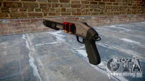 Помповое ружьё Mossberg 500 icon2 для GTA 4 второй скриншот