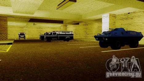 Новые транспортные средства в LSPD для GTA San Andreas четвёртый скриншот