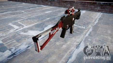 Пистолет-пулемёт UMP45 Bloodshot для GTA 4 второй скриншот
