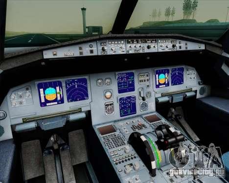 Airbus A321-200 Gulf Air для GTA San Andreas салон