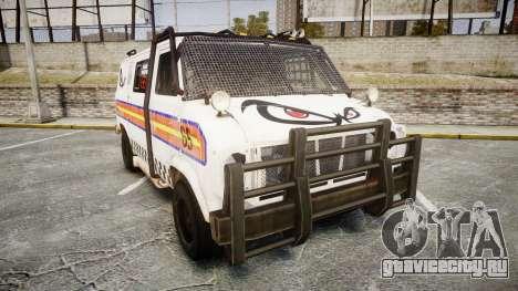 Kessler Stowaway No Fear для GTA 4