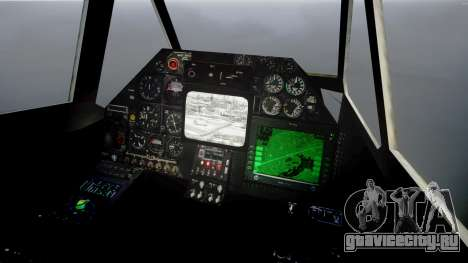 Ка-50 Чёрная акула для GTA 4 вид справа
