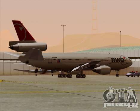 McDonnell Douglas DC-10-30 Northwest Airlines для GTA San Andreas